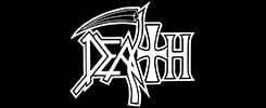 death logo official band merch
