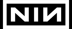 nine inch nails logo official band merch