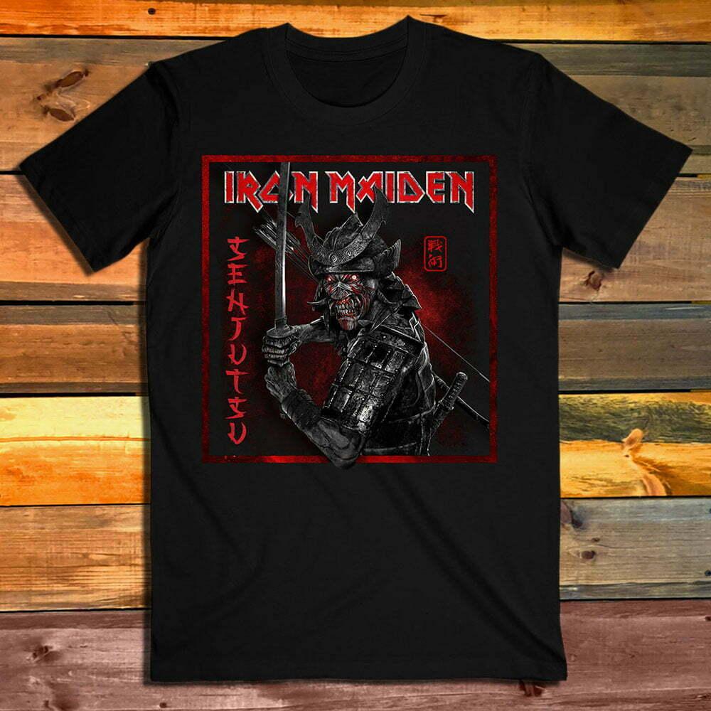 Тениска Iron Maiden Senjutsu Cover